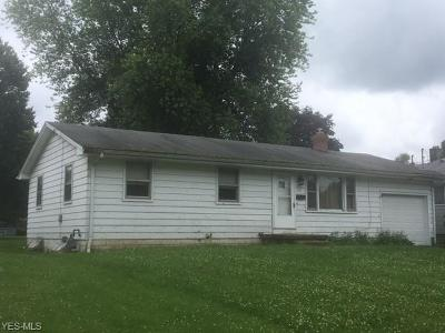 Youngstown Single Family Home For Sale: 2447 San Pedro Drive