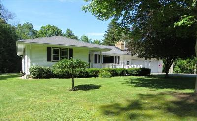 Mahoning County Single Family Home For Sale: 16870 Mock Road