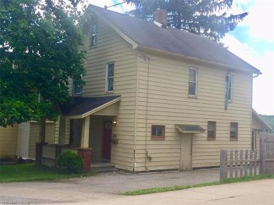 Mahoning County Single Family Home For Sale: 152 Youngstown Lowellville Road