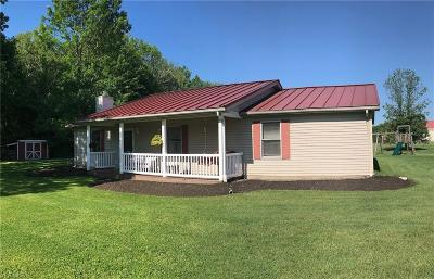 Jefferson Single Family Home For Sale: 1525 State Route 46