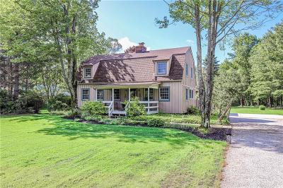 Chardon Single Family Home For Sale: 11431 Hosford Road