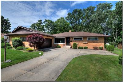 Highland Heights Single Family Home For Sale: 872 Rose Boulevard