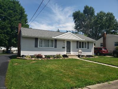 Hubbard Single Family Home For Sale: 545 Rebecca Avenue
