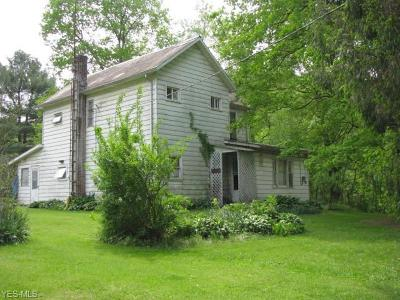 Guernsey County Single Family Home For Sale: 4080 Indian Camp Run Road