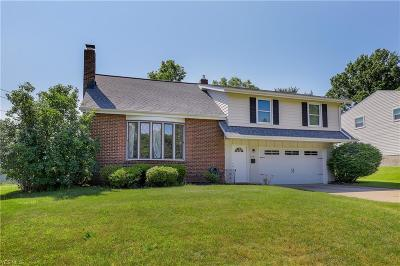 Twinsburg Single Family Home Active Under Contract: 9501 Lawnfield Drive