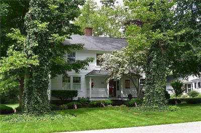 Ashtabula Single Family Home For Sale: 1403 Pine Drive