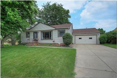 Cleveland Single Family Home For Sale: 11908 Glamer Drive