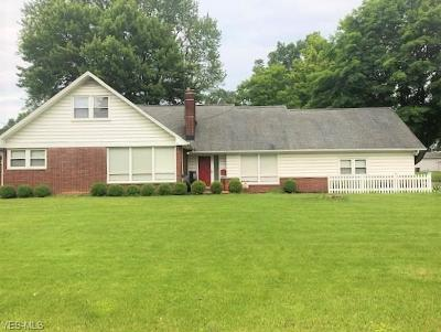 Youngstown Single Family Home For Sale: 6039 Glenridge Road
