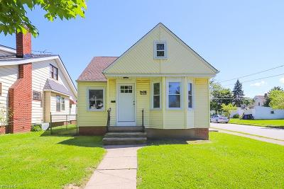 Cleveland Single Family Home For Sale: 13625 West Avenue