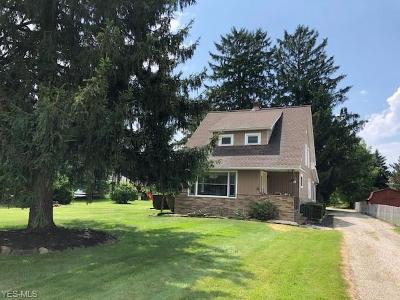 Strongsville Single Family Home Active Under Contract: 8580 Webster Road