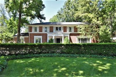 Shaker Heights Single Family Home For Sale: 19301 Shaker Boulevard