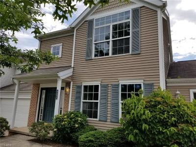 Macedonia Condo/Townhouse For Sale: 8554 Mandell Drive