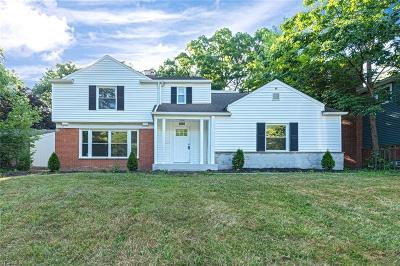 South Euclid Single Family Home For Sale: 1963 Laurel Hill Drive