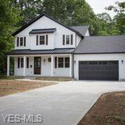 Bay Village Single Family Home Active Under Contract: 551 Upland Road