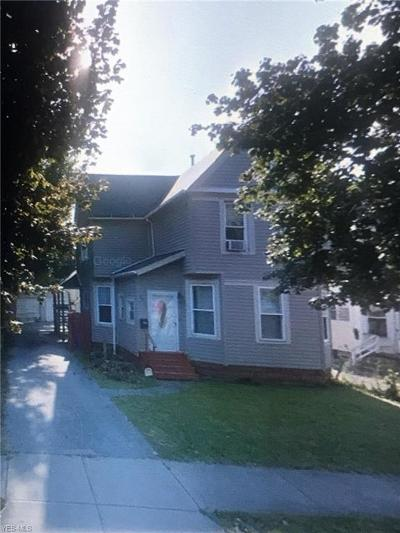 Cleveland Single Family Home Active Under Contract: 2037 W 93rd Street