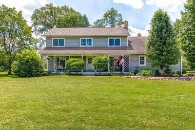 Chagrin Falls Single Family Home For Sale: 9195 Charles Road