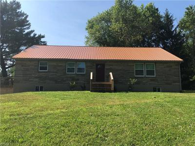 Zanesville Single Family Home Active Under Contract: 3700 East Pike
