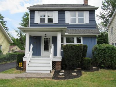 Cleveland Single Family Home For Sale: 1637 Maple Road
