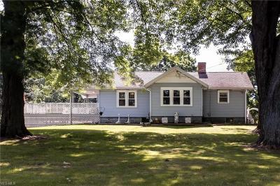 Ravenna Single Family Home For Sale: 1302 Sandy Lake Road