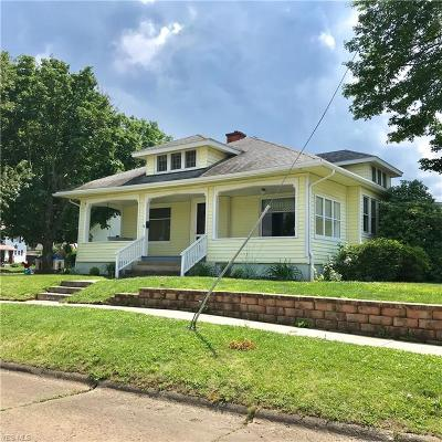 Guernsey County Single Family Home For Sale: 1602 Clairmont Avenue