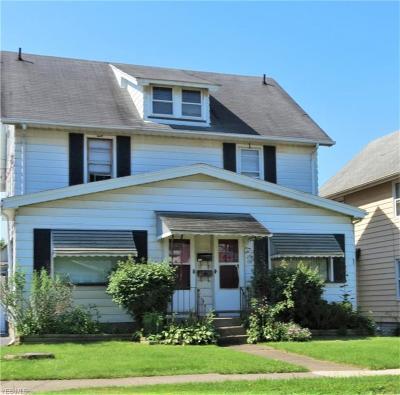 Girard Multi Family Home For Sale: 135 Churchill Road