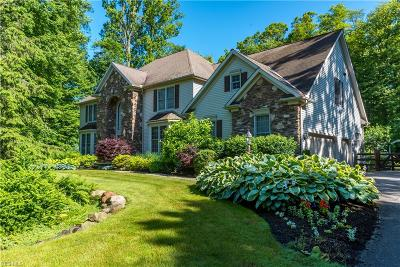 Chagrin Falls Single Family Home For Sale: 17321 Tall Tree Trail
