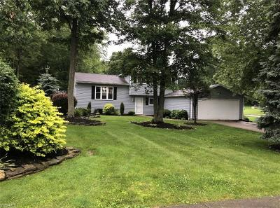 Twinsburg Single Family Home Active Under Contract: 11146 Heritage Drive