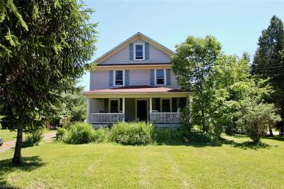 Leroy Single Family Home Active Under Contract: 13184 Carter Road