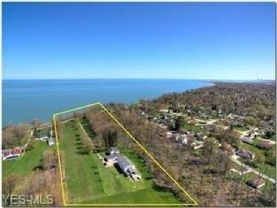 Mentor, Mentor-on-the-lake Single Family Home For Auction: 8776 Headlands Road