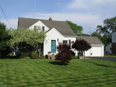 Fairview Park Single Family Home Active Under Contract: 5355 W 220th Street