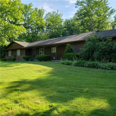 Saybrook Single Family Home For Sale: 2841 Brown Road