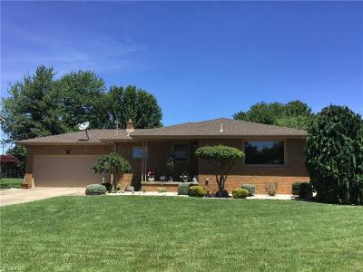 Struthers Single Family Home For Sale: 621 W Harvey Street