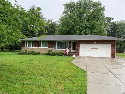Broadview Heights Single Family Home Active Under Contract: 8434 Wyatt Road