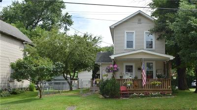 East Palestine Single Family Home For Sale: 191 W Clark Street