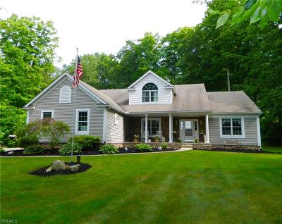 Chagrin Falls Single Family Home Active Under Contract: 17919 Cinnamon Trail
