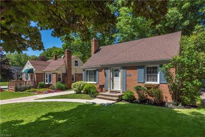 Bay Village Single Family Home Active Under Contract: 23944 Bruce Road