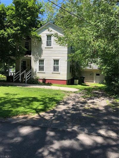 Chagrin Falls Single Family Home Active Under Contract: 31 South Street