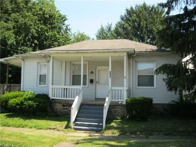 Zanesville Single Family Home For Sale: 1126 Melick Avenue
