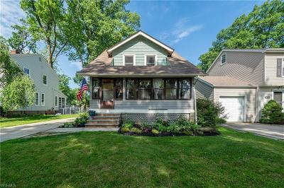 Bay Village Single Family Home Active Under Contract: 460 Elmwood Road