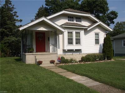 Zanesville Single Family Home For Sale: 2033 Hazel Avenue