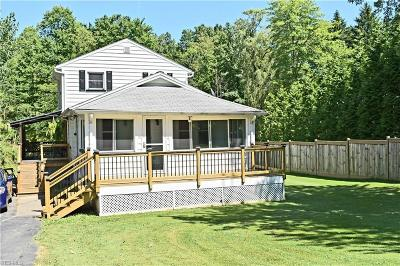 Broadview Heights Single Family Home Active Under Contract: 8563 Broadview Road