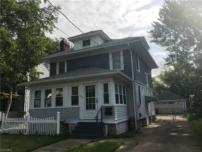 Painesville OH Single Family Home Active Under Contract: $99,900