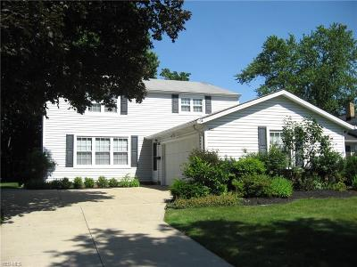Solon Single Family Home Active Under Contract: 6657 Forest Glen Avenue