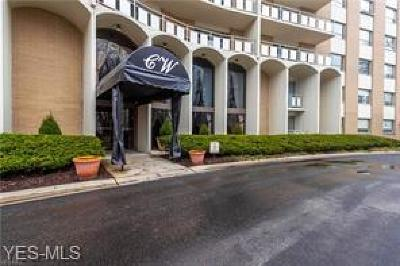 Rocky River Condo/Townhouse For Sale: 3400 Wooster Road #110