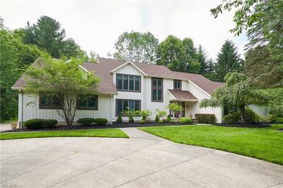Moreland Hills Single Family Home For Sale: 4080 Chagrin River Road