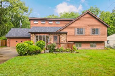 Solon Single Family Home Active Under Contract: 6884 Highland Drive