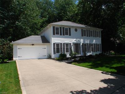 Olmsted Falls Single Family Home Active Under Contract: 8287 Bradfords Gate