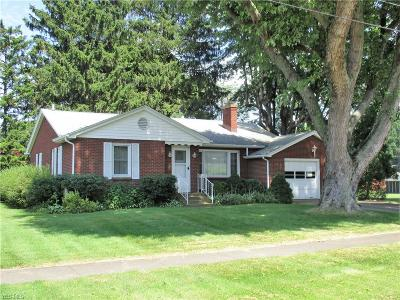 Conneaut Single Family Home Active Under Contract: 156 West Street