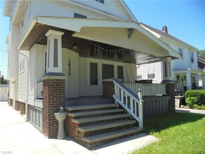 Single Family Home Active Under Contract: 1630 Woodward Avenue