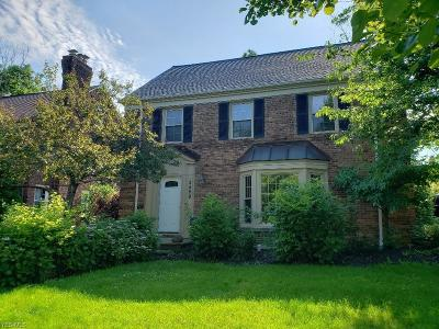 University Heights Single Family Home Active Under Contract: 2559 Dysart Road